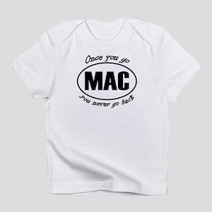 Once You Go Mac You Never Go Back Infant T-Shirt