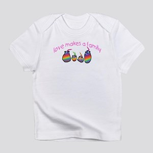 Love Makes A Family Infant T-Shirt