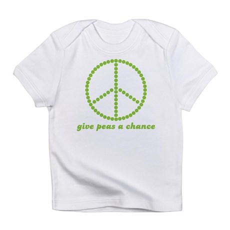 Give peas a chance Infant T-Shirt