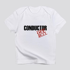 Off Duty Conductor Infant T-Shirt