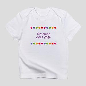 My Nana does Yoga Infant T-Shirt