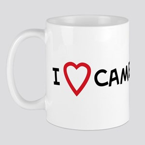 I Love Camel Racing Mug