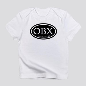 OBX Outer Banks, NC Oval Infant T-Shirt
