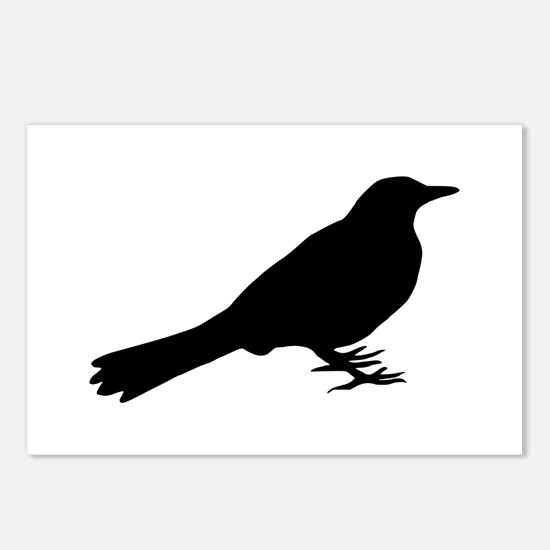 Blackbird Postcards (Package of 8)