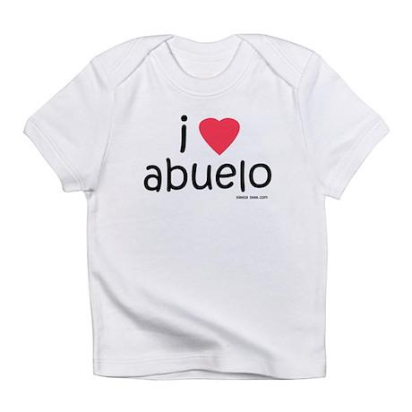 i love abuelo Infant T-Shirt
