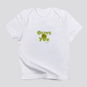 """Olive You"" sm Olive - / Onesie Infant T-Shirt"