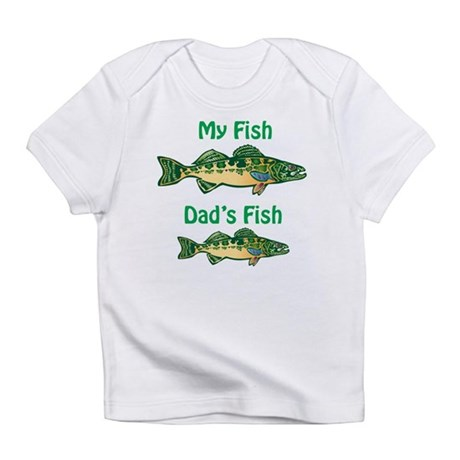My fish, dad's fish - Infant T-Shirt