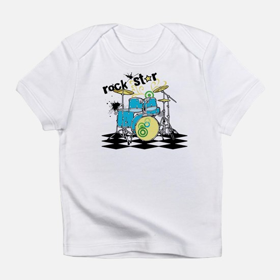 rock star (blue) Infant T-Shirt