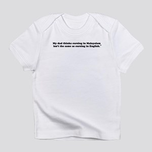 Cursing Infant T-Shirt