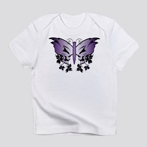 Purple Skull Butterfly Infant T-Shirt