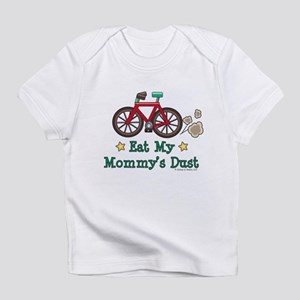 Mommy's Dust Cycling Bicycle Onesie Infant T-Shirt