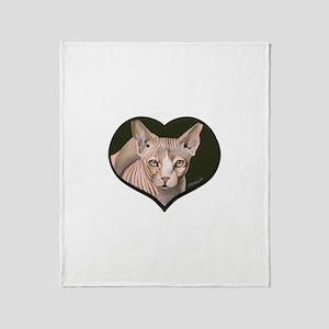 SPHYNX CAT 2 - Throw Blanket
