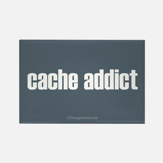 Cache Addict Rectangle Magnet