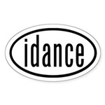 Dance Euro Stickers by Dances Sticker (Oval)