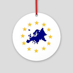 Europe Ornament (Round)