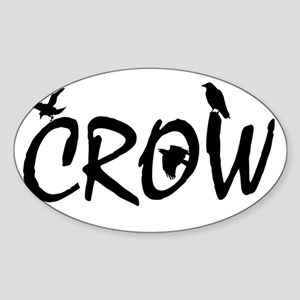 CROW Sticker (Oval)