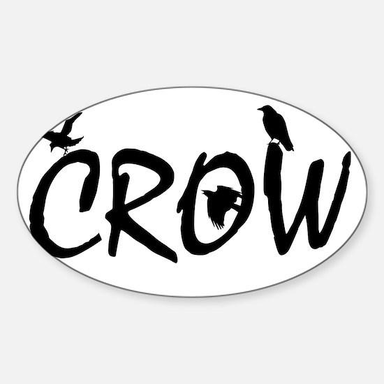 CROW Sticker (Oval)