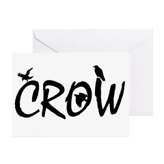 CROW Greeting Cards (Pk of 20)