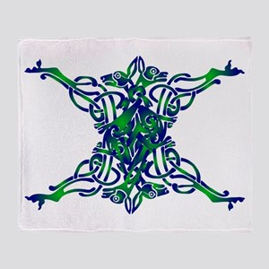 St. Patrick's Breastplate Throw Blanket