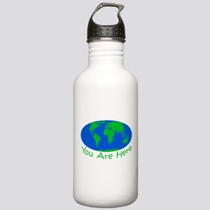Earth Day You Are Here Stainless Water Bottle 1.0L