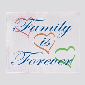 Family is Forever Throw Blanket