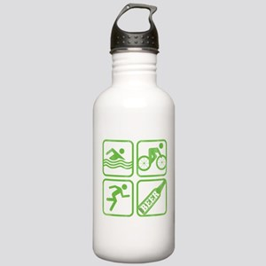Swim, Bike, Run, BEER! Stainless Water Bottle 1.0L