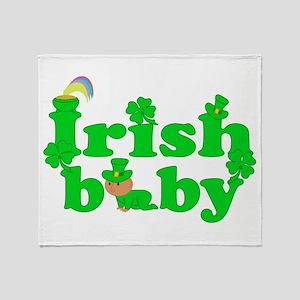 Irish Baby Throw Blanket