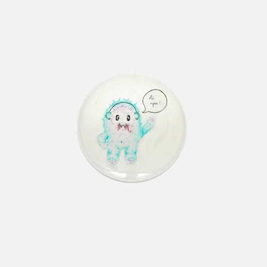 Cute Ear muffs Mini Button