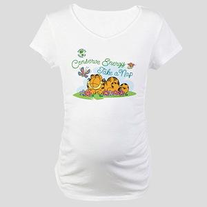Conserve Energy Maternity T-Shirt