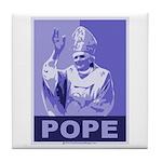 Pope Tile Coaster