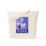 Pope Tote Bag
