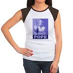 Pope Women's Cap Sleeve T-Shirt