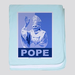 Pope baby blanket