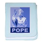 Pope baby blanket