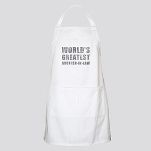 World's Greatest Brother-In-Law (Grunge) Apron