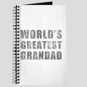 World's Greatest Grandad (Grunge) Journal