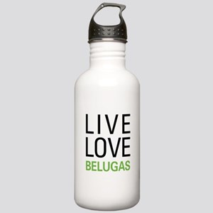 Live Love Belugas Stainless Water Bottle 1.0L