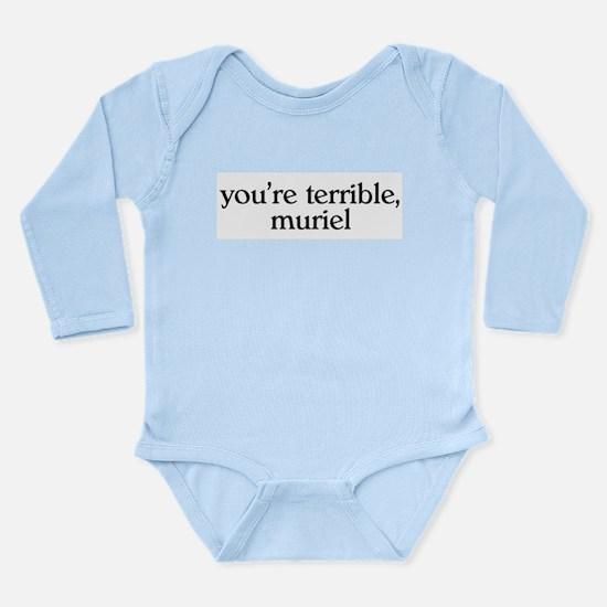 Muriel Long Sleeve Infant Bodysuit