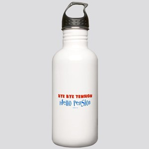Hello Pension Retiree Stainless Water Bottle 1.0L