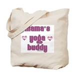 mamas yoga buddy Tote Bag