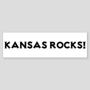 Kansas Rocks! Bumper Sticker
