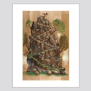 Eagle Mountain Climb Progress Mini-Print