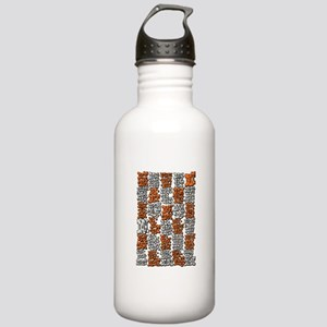 Morse Code A to Z Stainless Water Bottle 1.0L