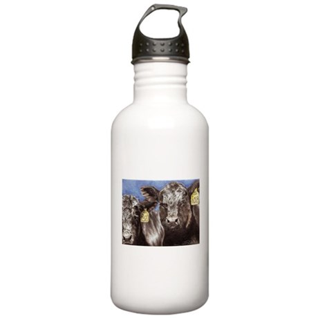 Brothers Angus Bull Calf Stainless Water Bottle 1.