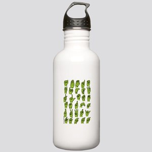 Finger Signing Stainless Water Bottle 1.0L