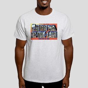 Geneva on the Lake Light T-Shirt