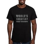 World's Greatest Great Grandpa (Grunge) Men's Fitt