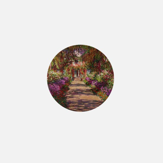 Cool Monet Mini Button