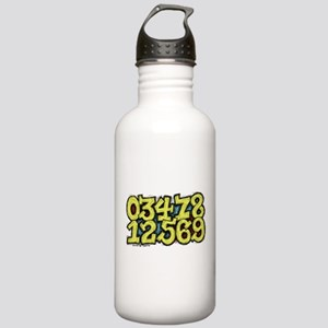 Numbers 0 thru 9 Stainless Water Bottle 1.0L
