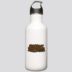 Grizzly Bear Hugger Stainless Water Bottle 1.0L